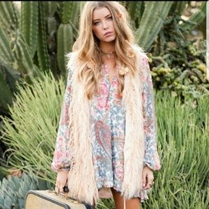 SMYM Revolve Jamie Tunic Dress In Gray Gardens S